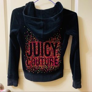 Pretty Juicy Couture Girls Jacket with Hoodie